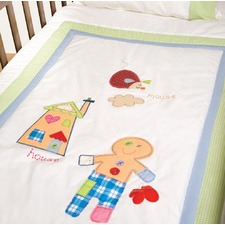 Happy Kids Baby & Child Gingerbread Man Cot Quilt Cover