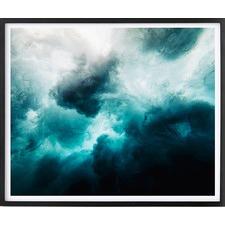 Ocean Storm Framed Print