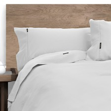 White Morrissey 1000 Thread Count Cotton Rich Sheet Set