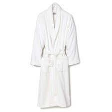 White Classic Cotton Terry Bathrobe