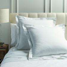 White Mille 1000TC Cotton Euro Pillowcases