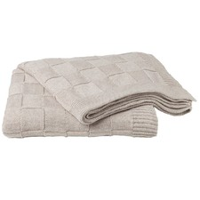 Scacchi Royale Luxury Knit Throw Rug