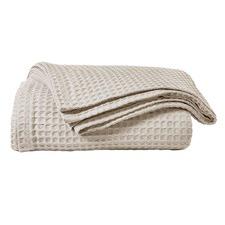 Luxury Cotton Waffle Blanket