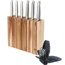 8 Piece New Pro Segmented Knife Block Set