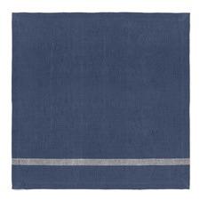 Stone Blue Vintage Stripe Napkins (Set of 4)
