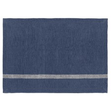 Stone Blue Vintage Stripe Placemats (Set of 4)