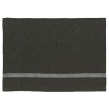 Charcoal Vintage Stripe Placemats (Set of 4)