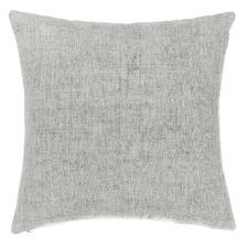 Smoke Vintage Linen Cushion