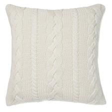 Marshmallow Jumbo Cable Cushion