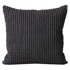 Plaited Cotton Knit Cushion