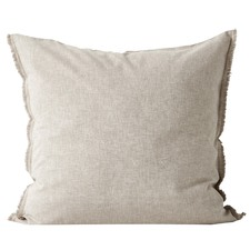 Chambray Fringed Euro Pillowcase