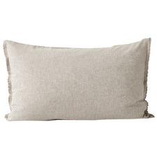 Chambray Fringed Standard Pillowcase