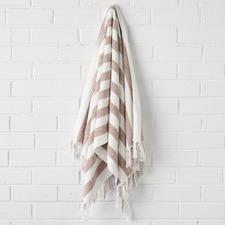 Stripe Cotton Hand Towel