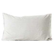 Chambray Vintage Stripe Standard Pillowcase