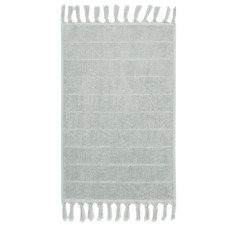 Fringed Paros 580GSM Cotton Bathroom Towels