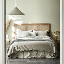 Natural Maison Vintage Linen-Blend Quilt Cover