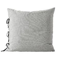 Grey Oxford Cotton-Blend European Pillowcase