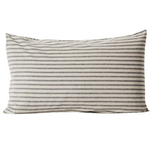 Heirloom Stripe Cotton-Blend Standard Pillowcase