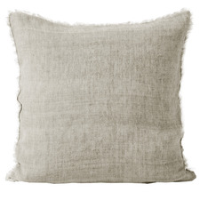 Natural Vintage Linen Cushion