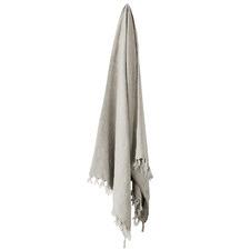 Natural Vintage Linen Throw