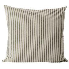 Heirloom Stripe Cotton-Blend European Pillowcase