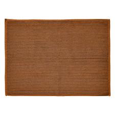 Paros Rib Reversible Cotton Bath Mat