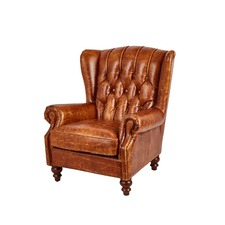 Vintage Leather Hazelnut Chesterfield Club Chair