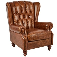 Capone Chesterfield Vintage Leather Club Chair