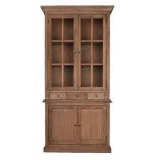 Georgian Glass Cabinet Oak