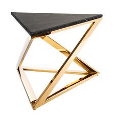 Trinity Stone & Steel Coffee Table