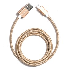 Lightning Gold Apple USB Connector
