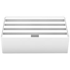 Medium White 4 Port USB Hub