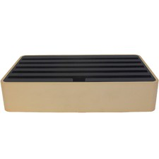 Large Gold & Black Aluminium All-Dock