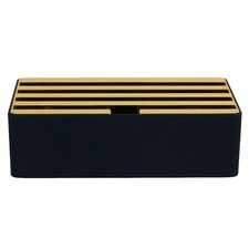 Black Base & Gold Top Medium Alldock