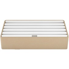 Large Gold & White Aluminium All-Dock