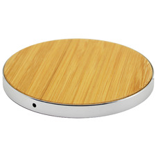 Light Timber Luxetech Wireless Charging Pad