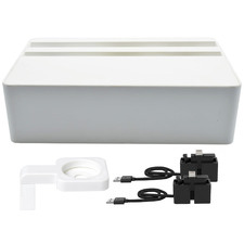 Compact AllDock HybridX Charging Station with Accessories