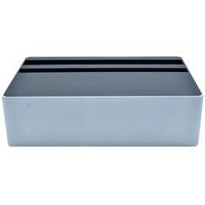 Compact Silver & Aluminium AllDock HybridX Charging Station