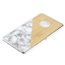 LuxeTech Bamboo Dual Wireless Pad