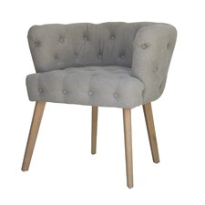 Babylon Button Tufted Armchair