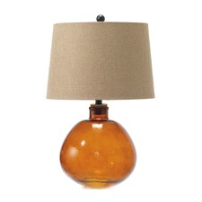 Amber Joan Fillable Table Lamp