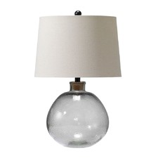Smoke Grey Joan Fillable Table Lamp