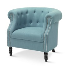Teal Madeline Tub Chair