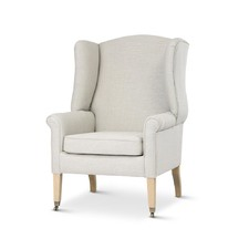 Taupe English Reading Chair