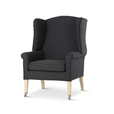 Black English Reading Chair