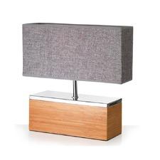Bamboo Block Table Lamp