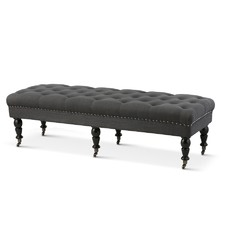 Charcoal Alice Dressing Bench
