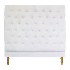 Off-White Harper Chesterfield Bedhead
