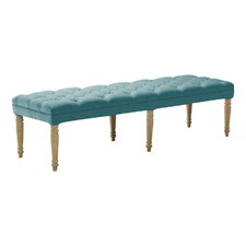 Teal Hailey Dressing Bench