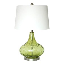 Misty Green Dew Drop Table Lamp